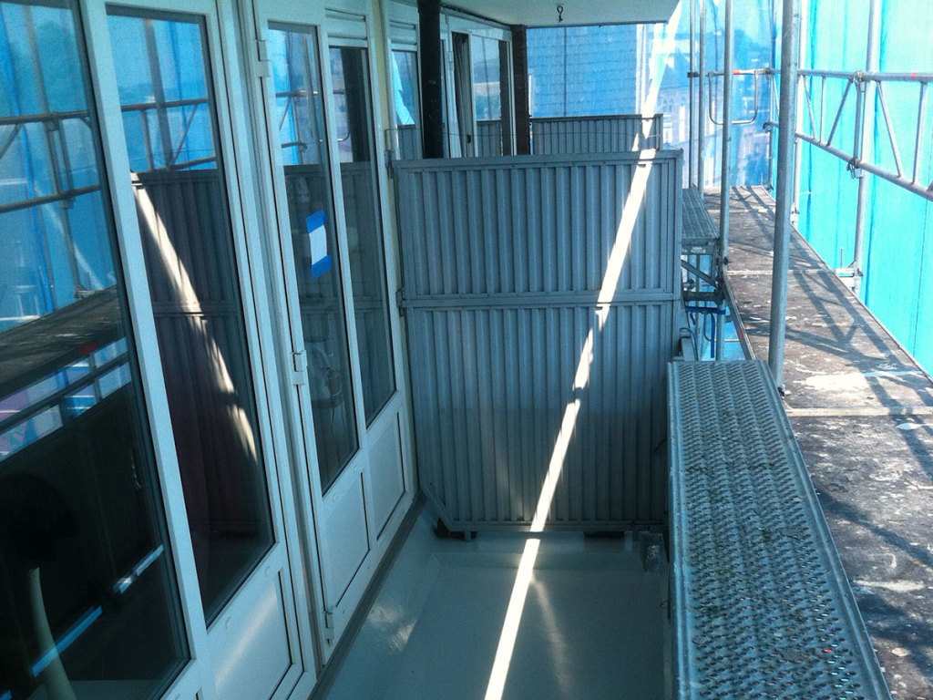 Balkon gevelonderhoud Improve Betonreparatie